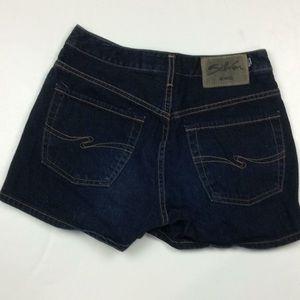 Silver Jeans Womens 100% Cotton Denim Shorts Sz 28